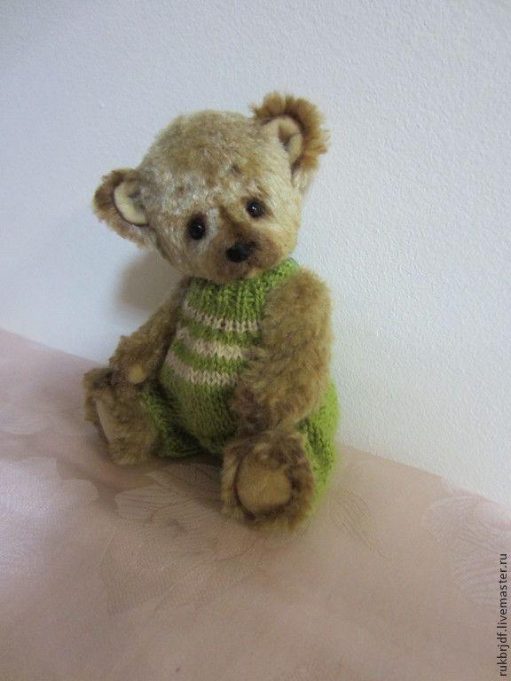 Купить Яшка - бежевый, мишка, мишка тедди, медвежонок, медведь, авторская ручная работа