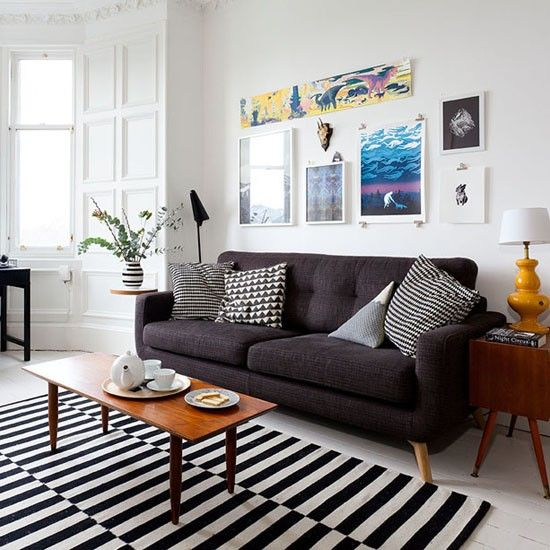 Living room | Victorian tenement flat | PHOTO GALLERY | Ideal Home | Housetohome