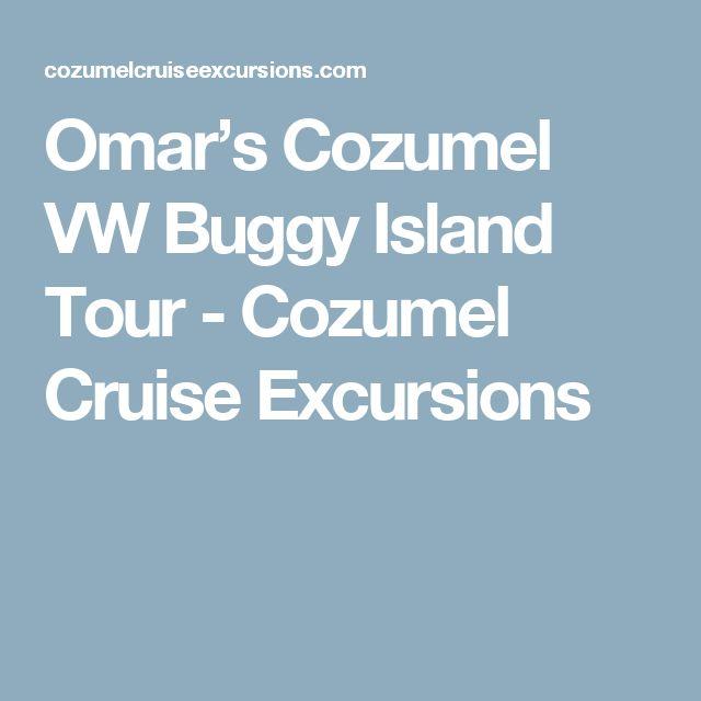 Omar's Cozumel VW Buggy Island Tour - Cozumel Cruise Excursions