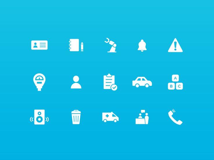 """""""Set de Iconos"""" - Web Buenos Aires"""