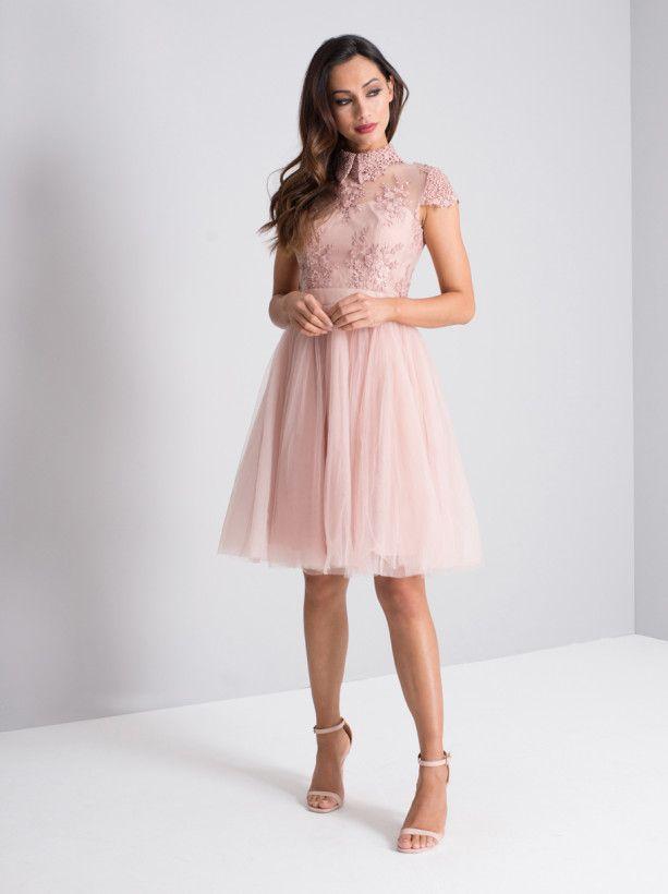4a7b55ce1442 Chi Chi London - Harlow Dress   Rose Gold
