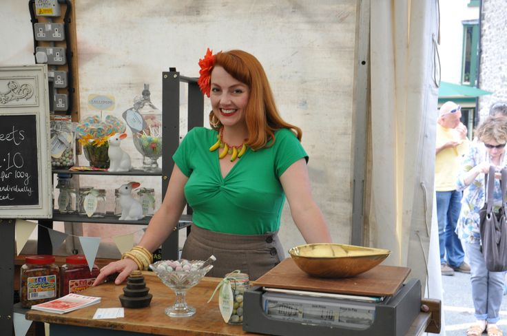 The lovely Mrs Lewis from The Good Ship Lollipop.