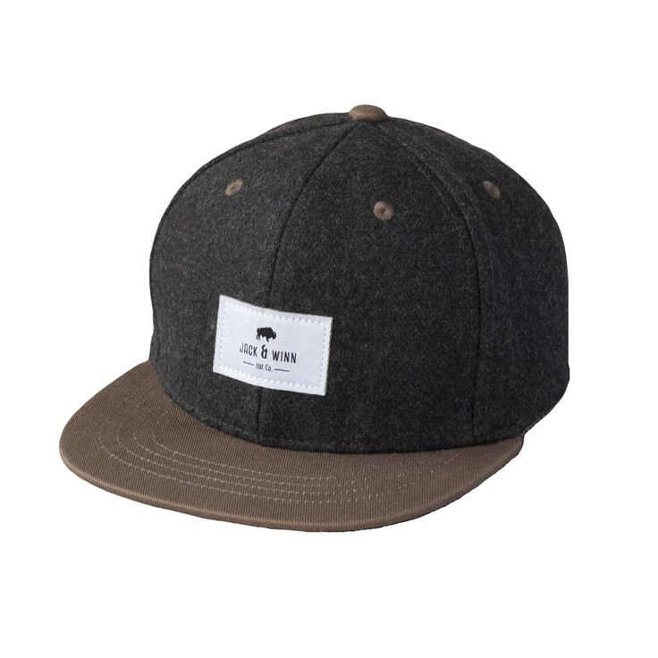 Jack & Winn's Henry Wool Snapback is a best seller for a reason. It's OH so stylish. The Wool Snapback maintains a little gent quality while offering all that snapback swag. Durable wool body and brow