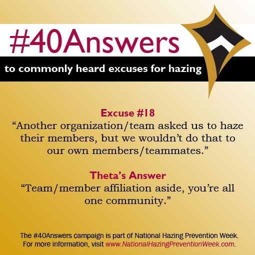 #40Answers Campaign, Day 18: Team/member affiliation aside, you're all one community. #NHPW