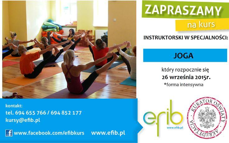 Już niebawem rozpoczynamy kurs instruktora jogi! Nie zwlekaj - dołącz do setek zadowolonych kursantów :))