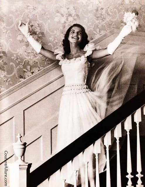 Jacqueline Bouvier, Debutante of the Year, 1947.