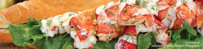 Lobster rolls, baguettes, pasta, etc