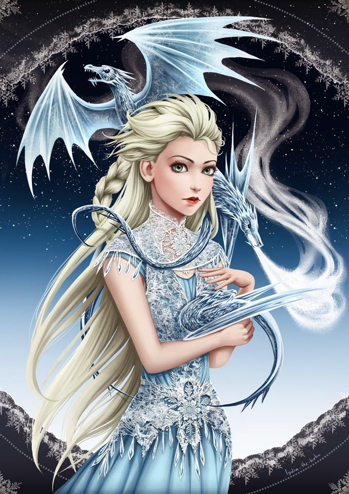 Elsa Game of Thrones by Lydia The Hobo