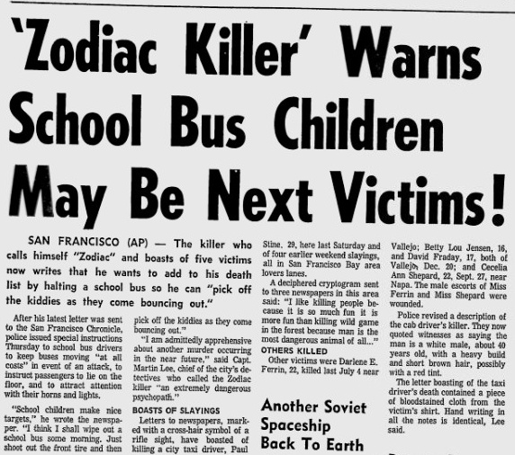 zodiac killer and true story The zodiac killer the only kind of scary/suspense films i enjoy are those that are a true story a movie that will make me look further into it then just watching the film a movie that will make me look further into it then just watching the film.