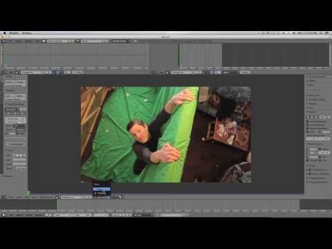 Beginner Blender VFX Tutorial Greenscreen - Masking! - YouTube
