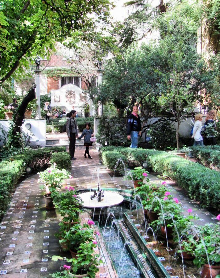 Jardín andaluz del Museo Sorolla