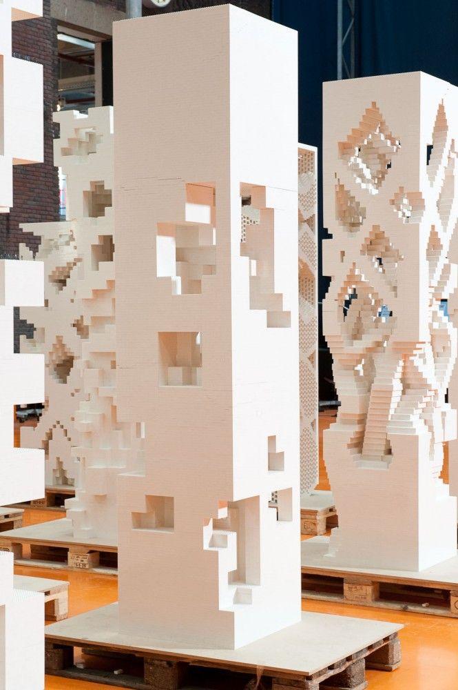 'Porous City – Open the Tower' Exhibition / MVRDV