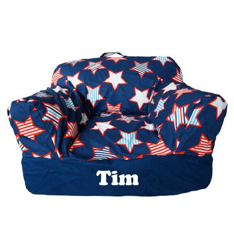 Personalised Beanbag Chair Starburst