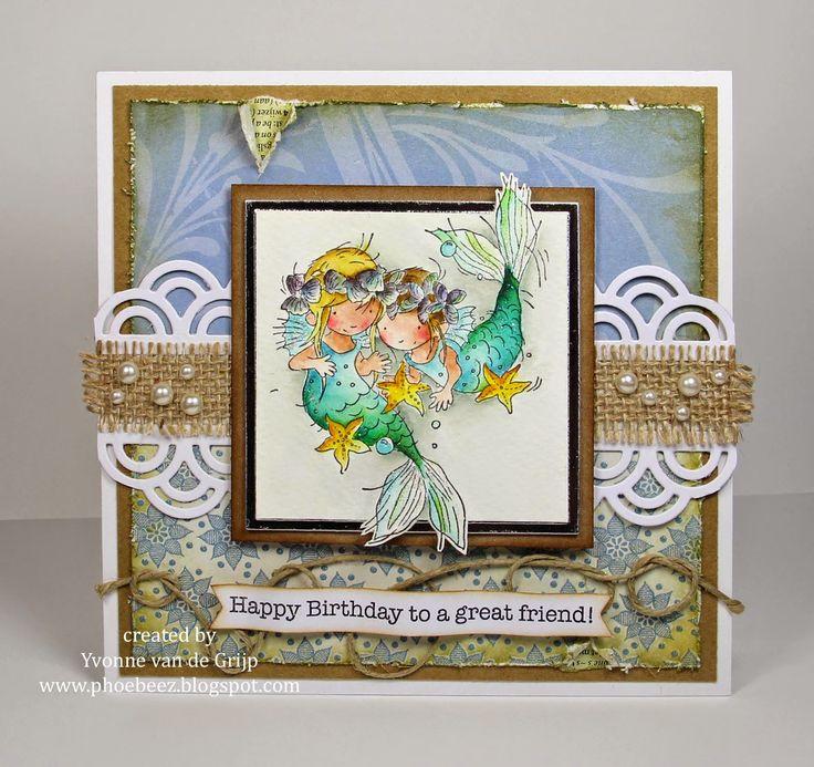 LOTV - Little Mermaid Friends by Yvonne van der Grijp