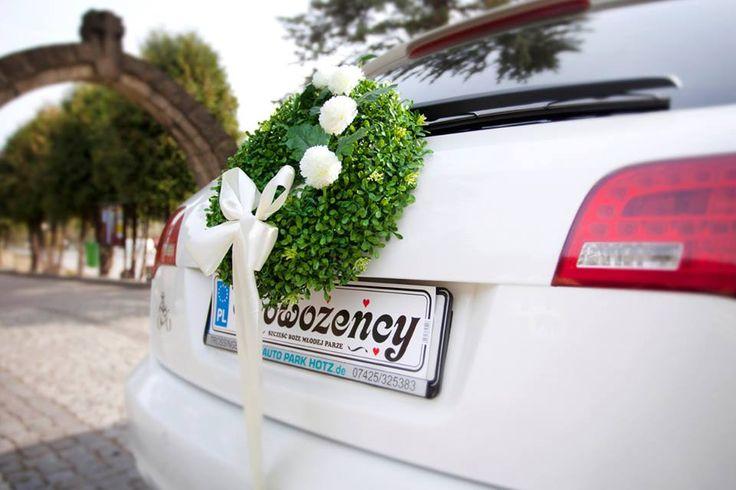 Dekoracja na samochód Wedding Dream
