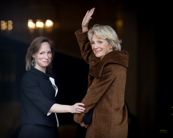 Princess Irene and her daughter  Princess Margarita, Countess of Colorno, attend the Koninginnedag concert 4/24/2013