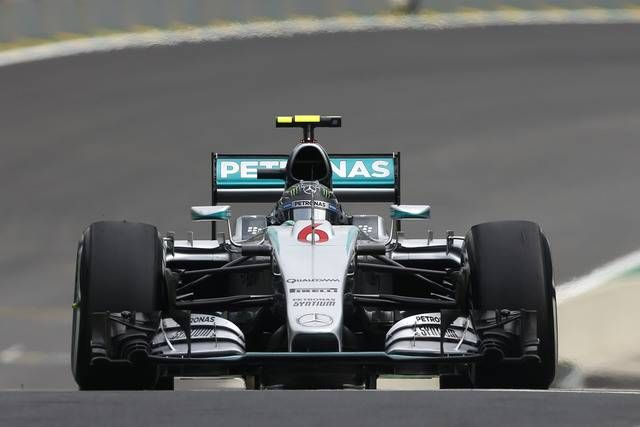 #Mercedes AMG Petronas 2015 Brazilian Grand Prix : Practice, Qualifying & Race