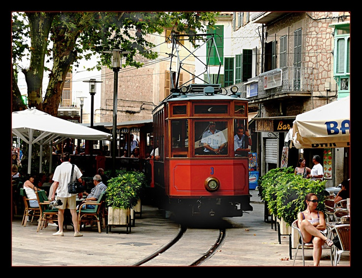 Soller #Mallorca #travel #tourism
