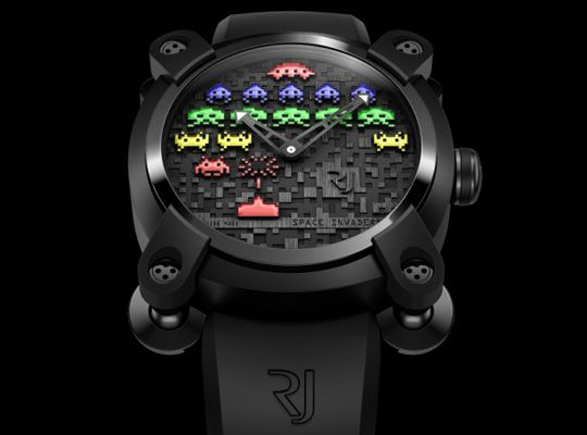 Limited Edition Romain Jerome Wristwatch $15,000: Geek, Jerome Spaces, Spaceinvad, Spaces Invaders, Style, Invaders Watches, Space Invaders, Products, Romaine Jerome