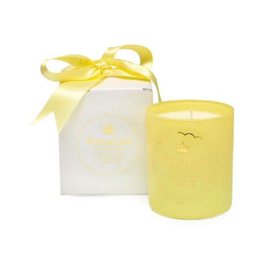 This Beautifully Balancing candle contains bold lemongrass brightened with Basil Oil. When burnt it will have a positive effect on the nervous system and will help to relieve tension and induce sleep. This is a perfect relaxing blend.Anna Lou of London candles are 100% natural and handmade in London in small batches using a soy wax from a sustainable source and only the finest essential oils. You will enjoy an approximate burn time of 72 Hours from this 300g large votive candlesAll the Anna…
