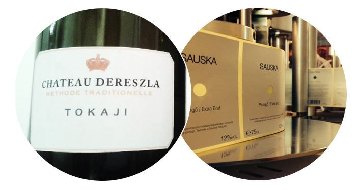Great sparkling wines in Tokaj: Sauska & Chateau Dereszla. Only Degenfeld is missing from the picture.