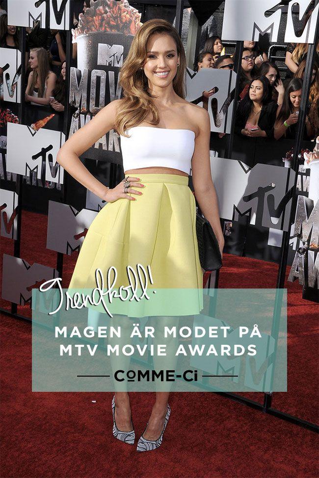 Trendkoll: Magen är modet på MTV Movie Awards - så stylar du den bäst!