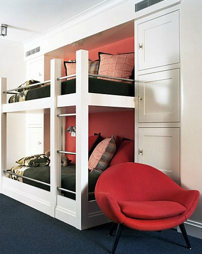 Bunk Bed Railing And Storage Bedroom Ideas Pinterest