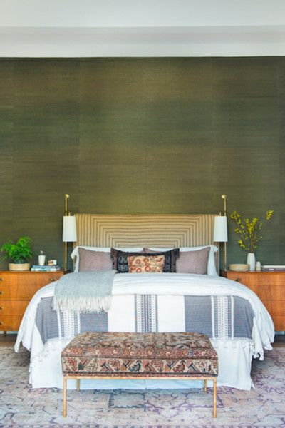 Similar Color Scheme - How To Decorate With Bold Wallpaper - Photos