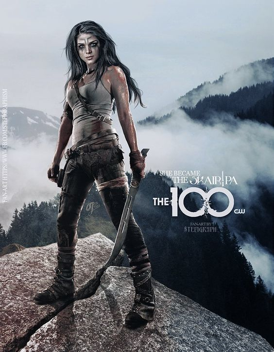 Octavia #THE100DAYPROJECT | 100 in 2019 | The 100 clexa, The