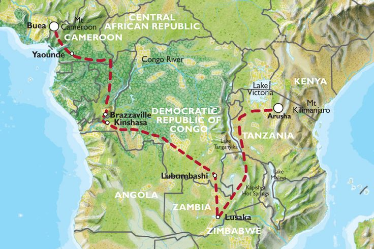 Central Africa Tour