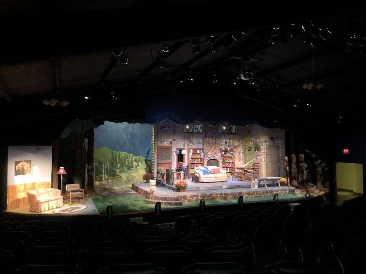 On Golden Pond  Fredericksburg Theater Company Set Design: Kerry Goff Light Design: Jim Weisman