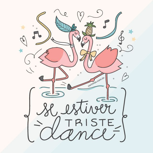 """""""Se estiver triste, dance!"""" Wallpaper gratuito de fevereiro 2016"""