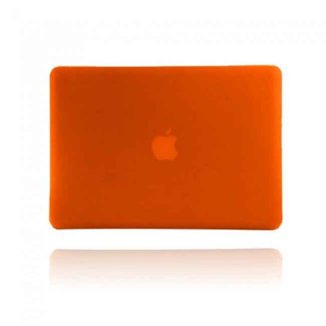 Hard Shell (Oranssi) Macbook Pro 13.3 Suojakuori - http://lux-case.fi/macbook-suojakotelot.html