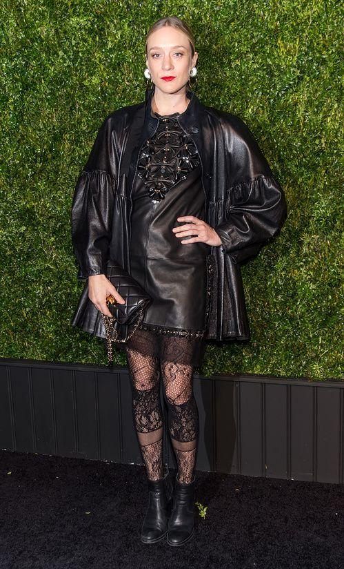 Chloë Sevigny au dîner des Artistes de Chanel, au Festival de Tribeca à New York