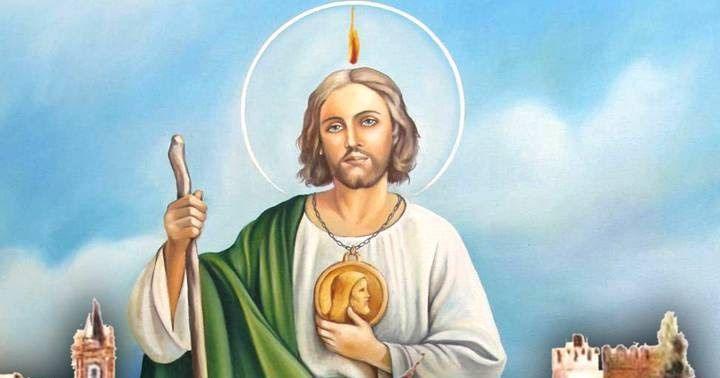 Glorioso apóstol San Judas Tadeo    siervo fiel y amigo de Jesús,   tú que eres el bendito patrón   de los casos difíciles y dese...