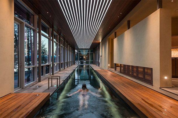 schitterende binnenzwembaden om te zwemmen tot het lente wordt