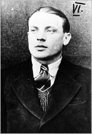 Karel Curda, the member of the team who betrayed Kubis and Gabcik and Operation Anthropoid. He did it for a million marks, married a German woman, spent the war working as a Gestapo spy. After the war, he was hunted down, tried, and executed. He believed anyone would've done as he did, for a million marks. No honor whatsoever.