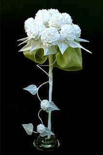 traditional polish folclore paper flowers