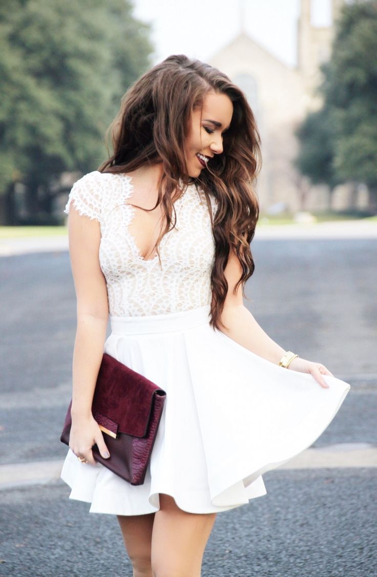 White dress bridal shower - White Lace Dress Perfect Bridal Shower Or Rehearsal Dinner Dress