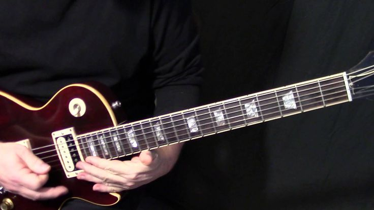 Chord guitar hotel california