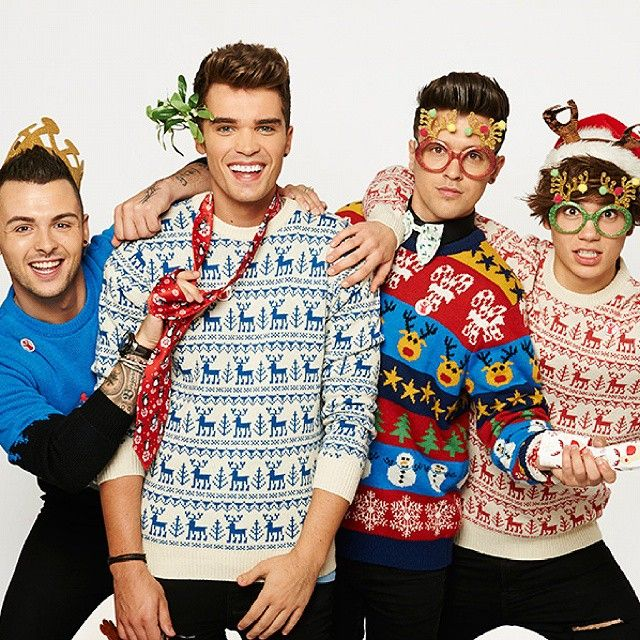 Union J wearing our Cheesy Christmas Jumpers http://www.cheesychristmasjumpers.com #ch... | Use Instagram online! Websta is the Best Instagram Web Viewer!