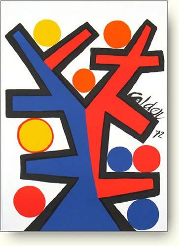 Asymetric, 1972 アレクサンダー・カルダー アート ポスター