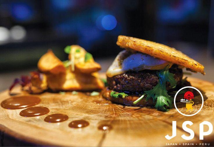 rAmen bUrger***** Lunch Menu @ Cinco  #cinco #jsp #japan #spain #peru #nikkei #restaurant #tapas #athens #kolonaki #skoufa #endlessdream #cinco_athens #pisco #sake #ceviche #tiradito #tigersmilk #cincoathens #markadakisteam  http://www.cincoathens.com