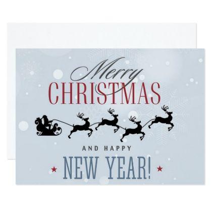 Christmas Santa Claus Card - Xmas ChristmasEve Christmas Eve Christmas merry xmas family kids gifts holidays Santa