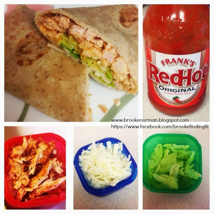 21 Day Fix Approved WHAT YOU WILL NEED: -High fiber low carb wrap -Boneless skinless chicken breast -pepper -franks red hot sauce -Monterey jack cheese -Romaine lettuce  DIRECTIONS -preheat oven to 400 degrees -Bake chicken with pepper to taste until no longer pink -Shred chicken with a fork and mix with franks red hot to taste -Add chicken to wrap along with cheese and lettuce -enjoy