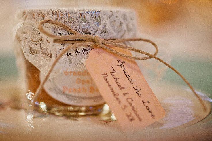 Wedding Favor - An Old Family Recipe: Peach Butter