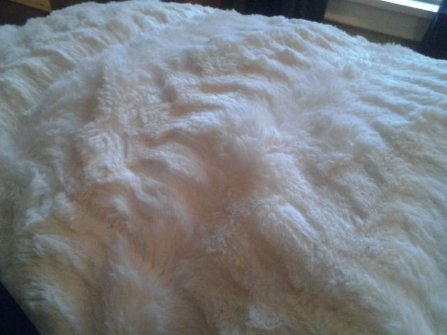 bunny soft lightweight queen full size white cream faux fur blanket bedspread bedspread king size and fur decor