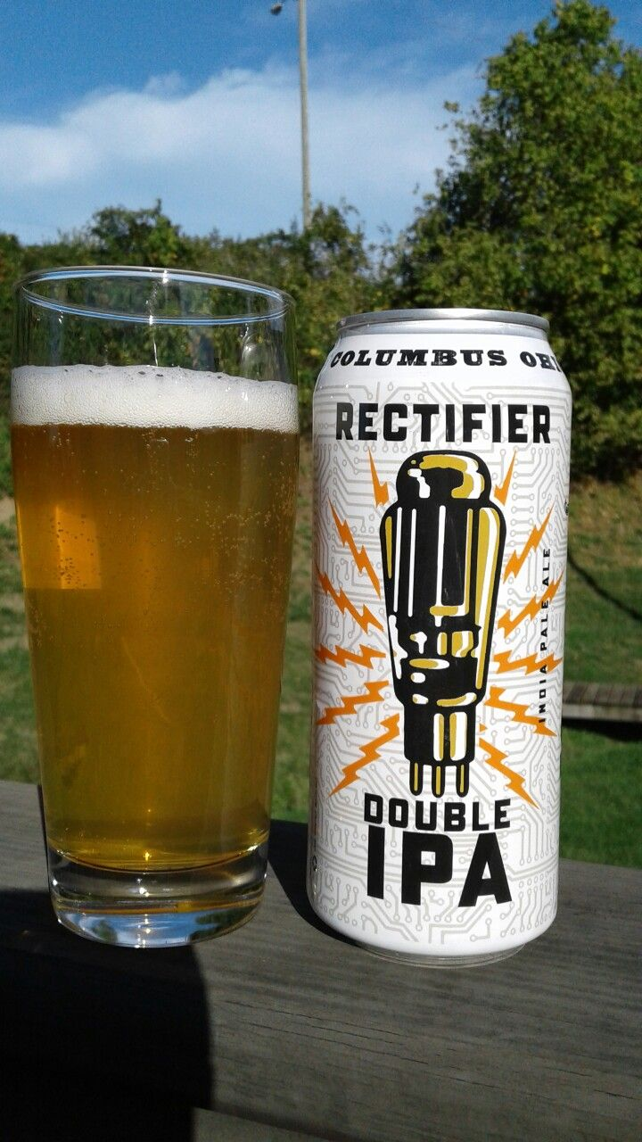 Rectifier Double IPA by Four String Brewing Co., Columbus, Ohio - Nice aroma and hop bite and you gotta love the 16 oz. can.