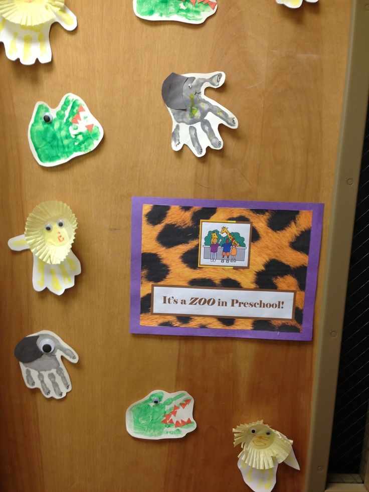 zoo door decorations | Zoo animal craft/door display ...
