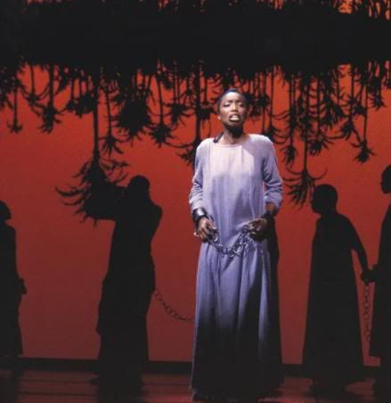 Disney Aida Musical | Heather Headley singing ''The Past is Another Land'' in the Original ...